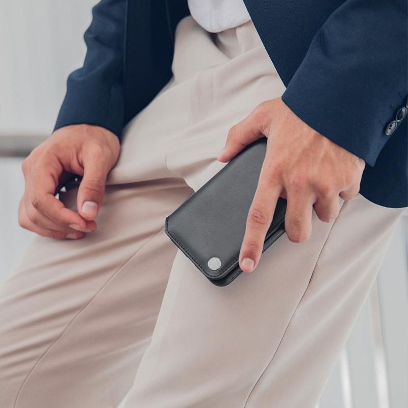 Moshi Overture Wallet Hoes iPhone XR Zwart 05