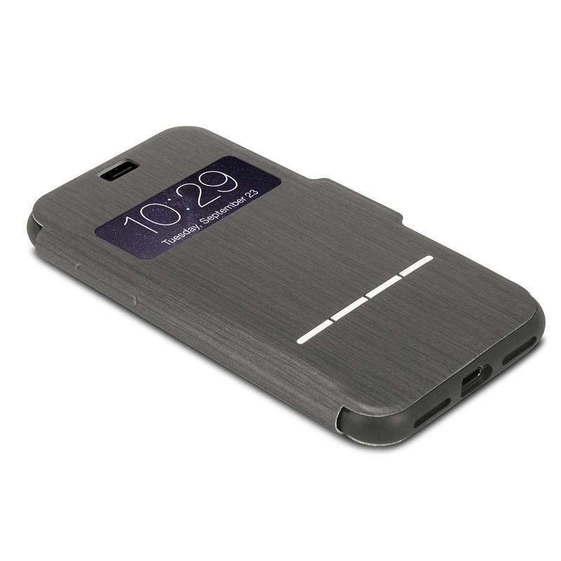 Moshi SenseCover iPhone 7 Charcoal Black - 3