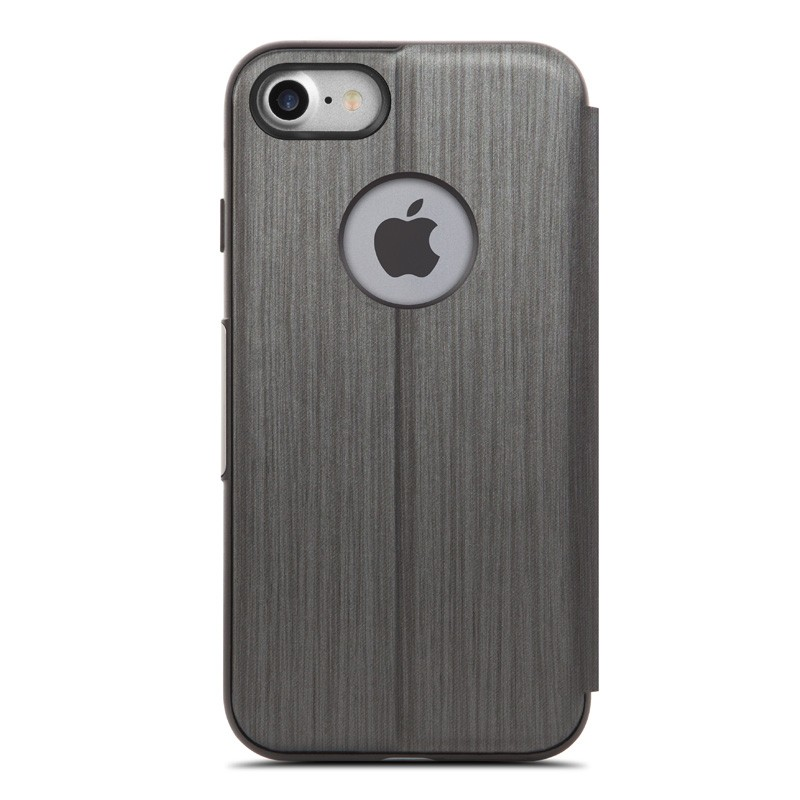 Moshi SenseCover iPhone 7 Charcoal Black - 4