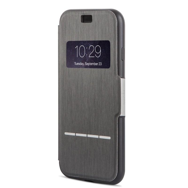 Moshi SenseCover iPhone 7 Plus Charcoal Black  - 2