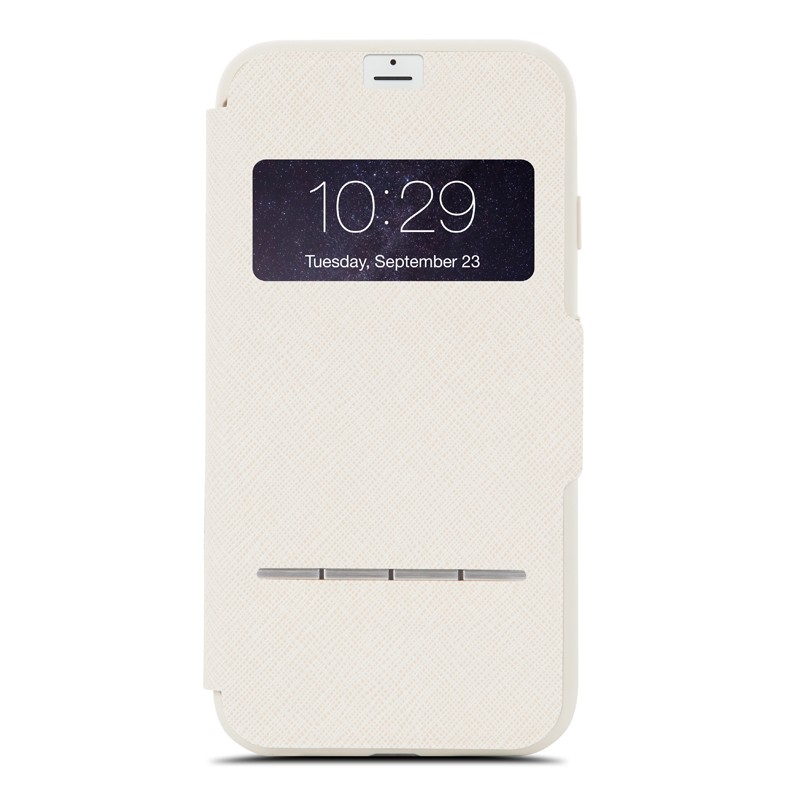 Moshi SenseCover iPhone 7 Plus Stone White  - 1