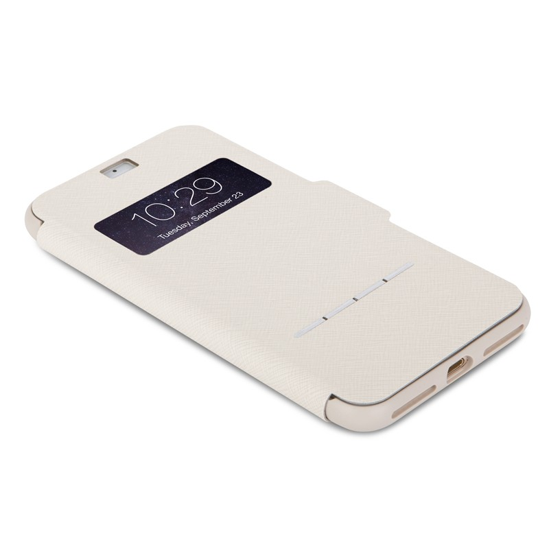 Moshi SenseCover iPhone 7 Plus Stone White  - 3