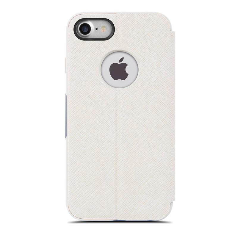 Moshi SenseCover iPhone 7 Stone White - 4