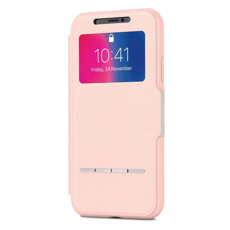Moshi - SenseCover iPhone X/Xs Luna Pink - 4