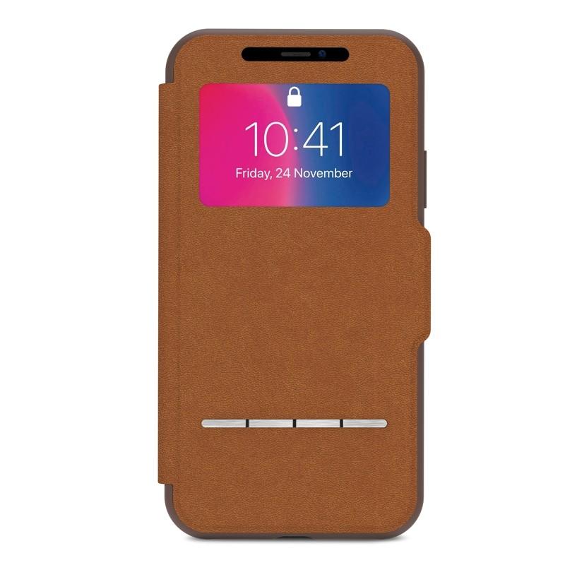 Moshi - SenseCover iPhone X/Xs Caramel Brown - 1