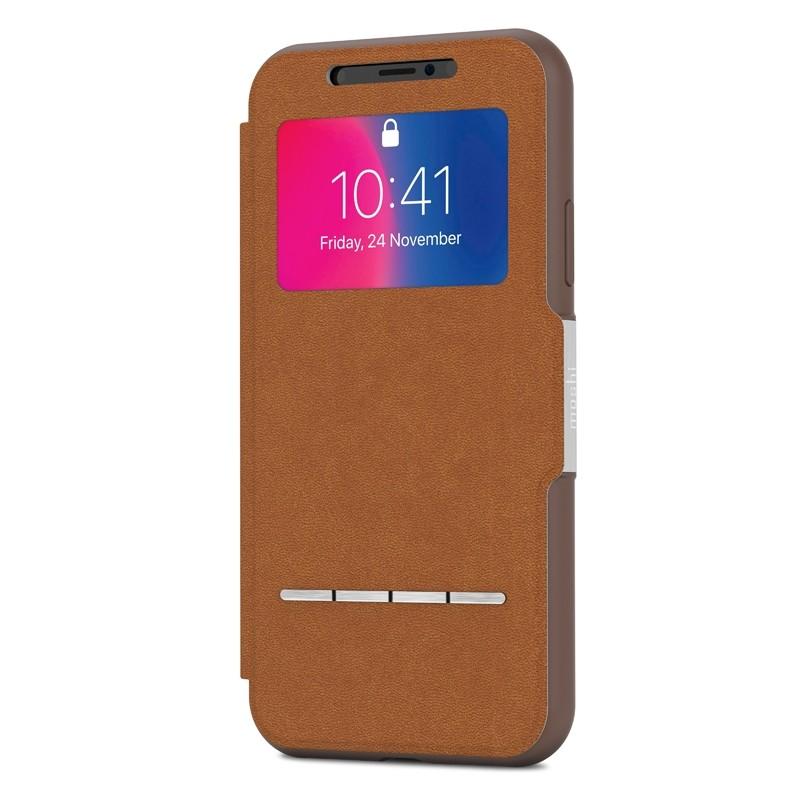 Moshi - SenseCover iPhone X/Xs Caramel Brown - 2