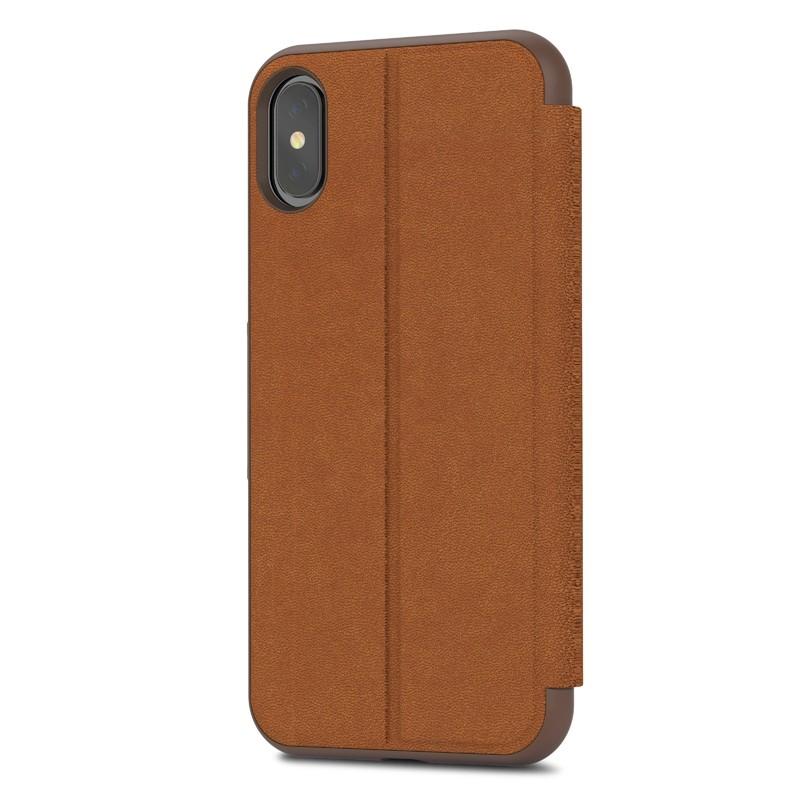 Moshi - SenseCover iPhone X/Xs Caramel Brown - 4