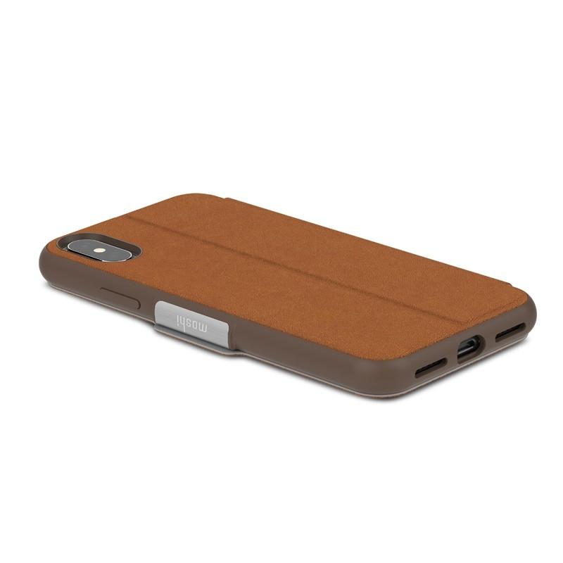 Moshi - SenseCover iPhone X/Xs Caramel Brown - 5
