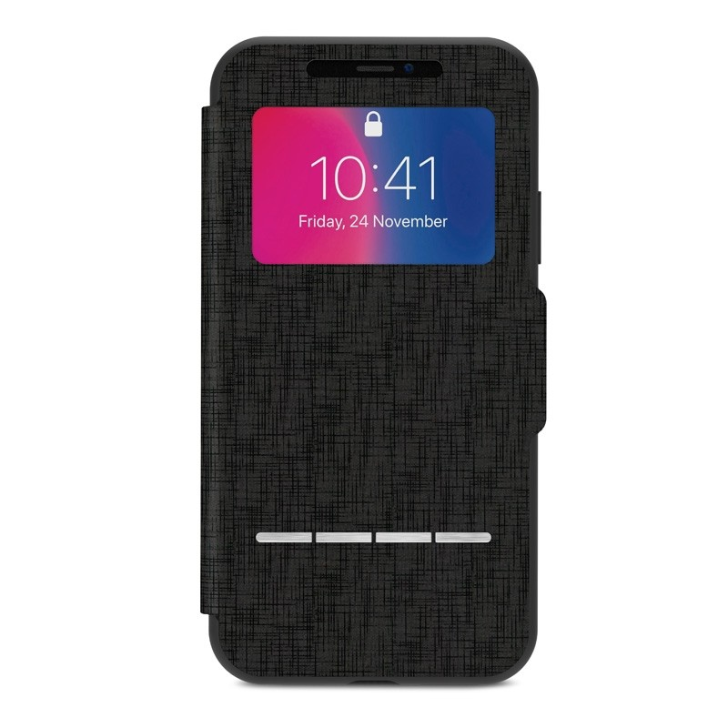 Moshi - SenseCover iPhone X/Xs Metro Black - 1