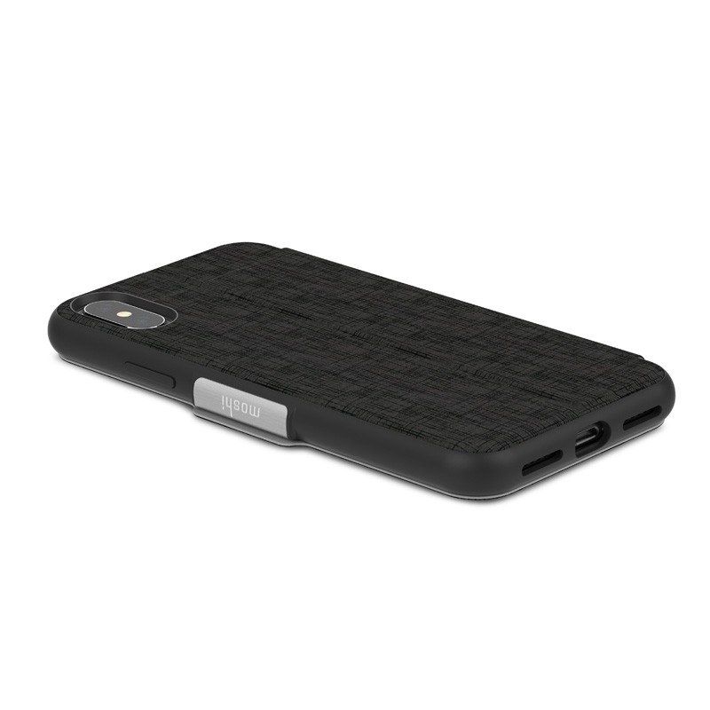 Moshi - SenseCover iPhone X/Xs Metro Black - 5