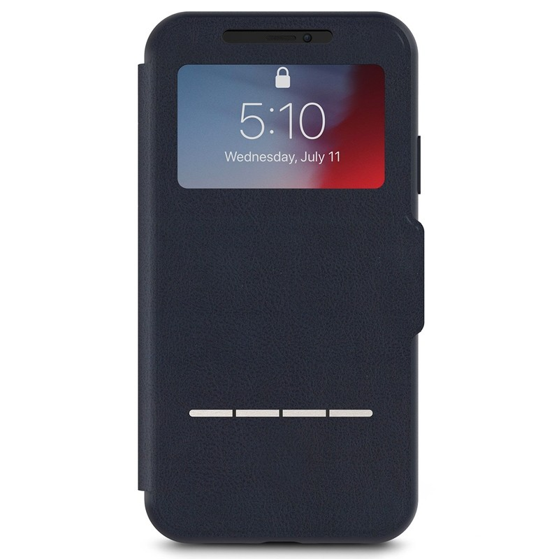 Moshi SenseCover iPhone XR Hoesje Midnight Blue 01