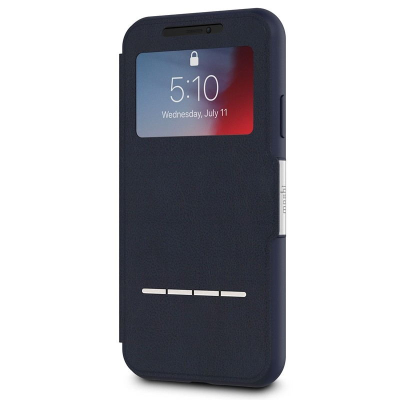 Moshi SenseCover iPhone XR Hoesje Midnight Blue 03