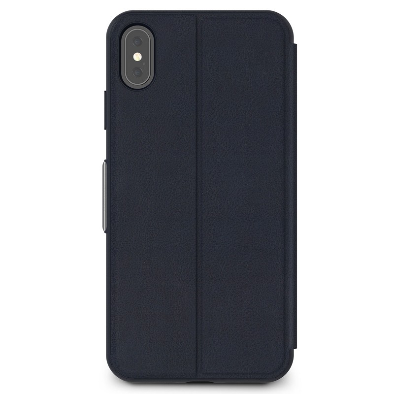 Moshi SenseCover iPhone XS Max Hoesje Midnight Blue 02