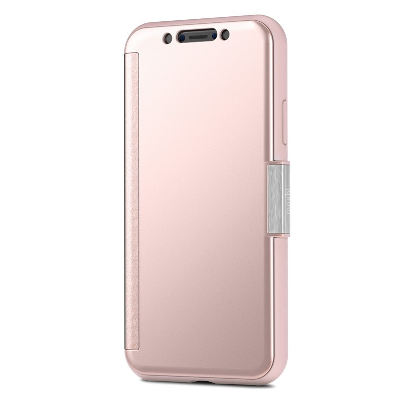 Moshi Stealthcover iPhone X Champagne Pink - 4