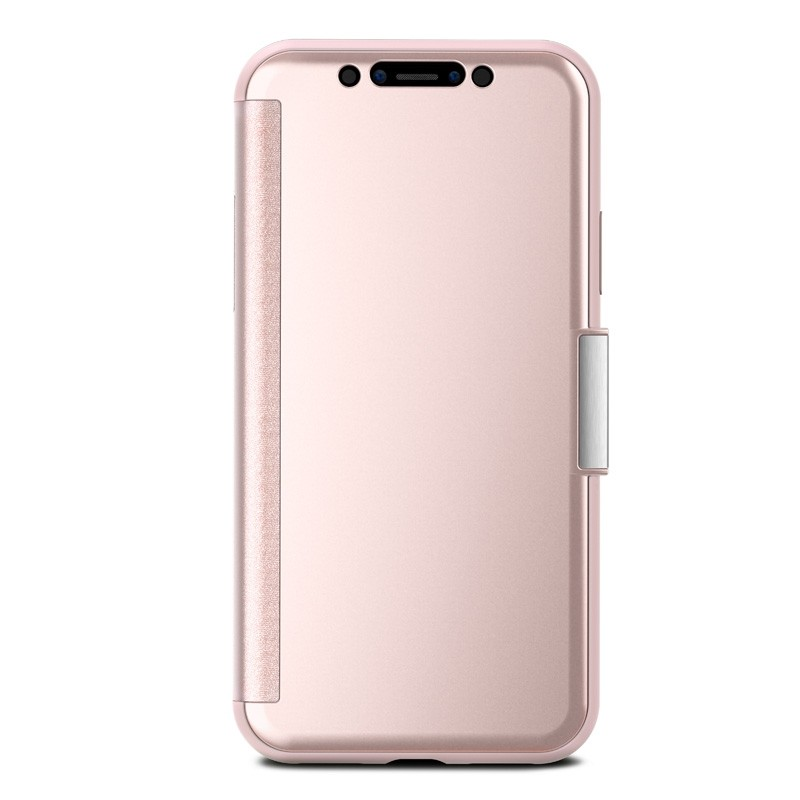 Moshi Stealthcover iPhone X Champagne Pink - 5