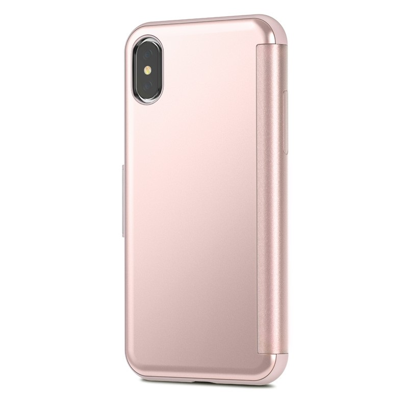 Moshi Stealthcover iPhone X/Xs Champagne Pink - 6