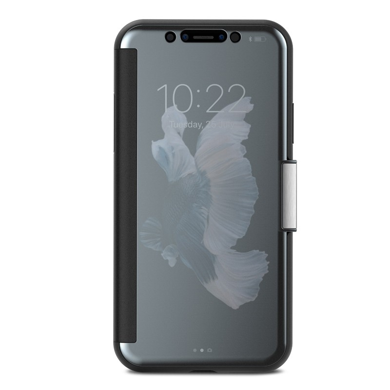 Moshi Stealthcover iPhone X/Xs Gunmetal Gray - 1