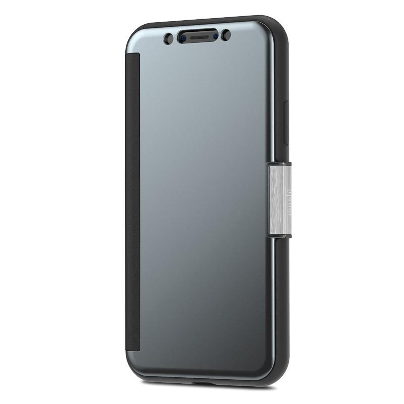 Moshi Stealthcover iPhone X Gunmetal Gray - 4