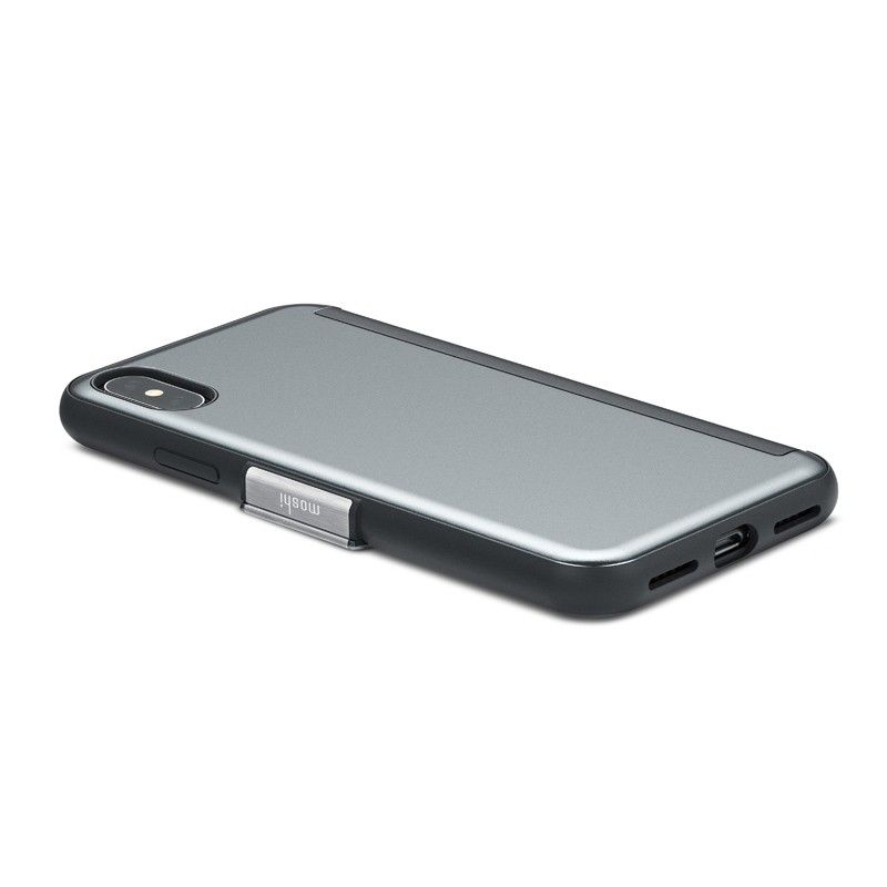 Moshi Stealthcover iPhone X/Xs Gunmetal Gray - 5