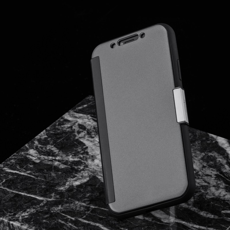 Moshi Stealthcover iPhone X Gunmetal Gray - 9