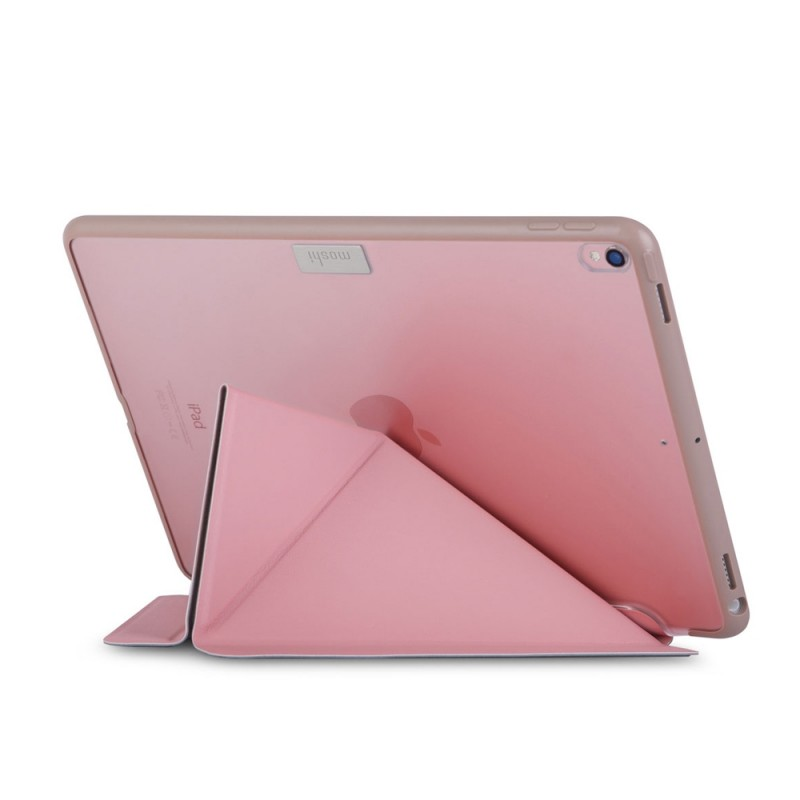 Moshi VersaCover iPad Pro 10.5 inch Roze Transparant 03