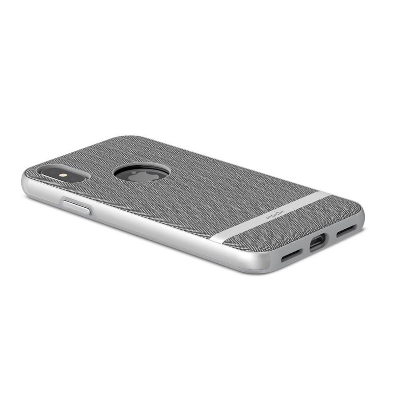 Moshi Vesta iPhone X/Xs Herringbone Gray - 3