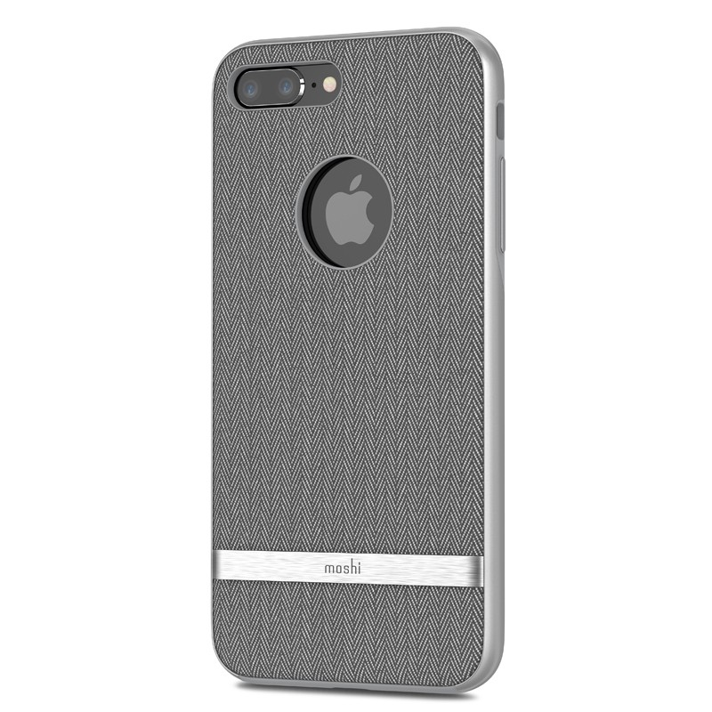 Moshi Vesta iPhone 8 Plus/7 Plus Herringbone Grey - 2