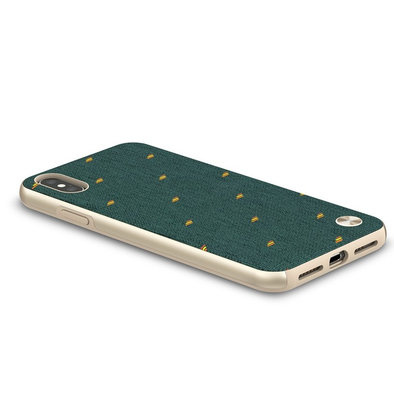 Moshi Vesta iPhone XS Max Hoesje Emerald Green 04