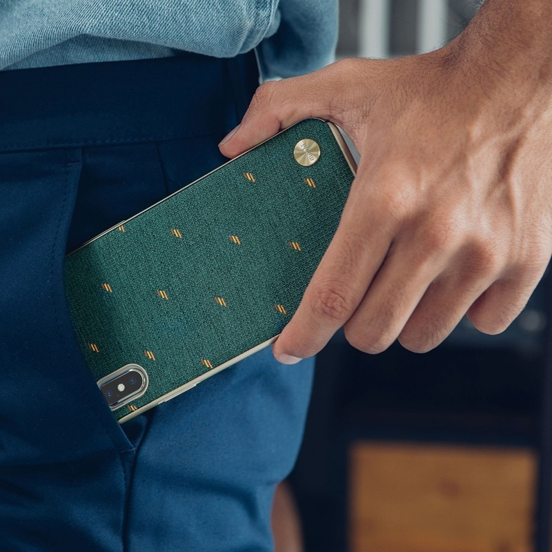 Moshi Vesta iPhone XS Max Hoesje Emerald Green 05