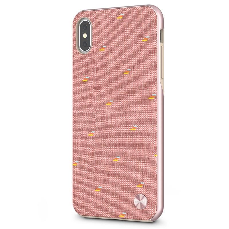 Moshi Vesta iPhone XS Max Hoesje Marcaron Pink 02