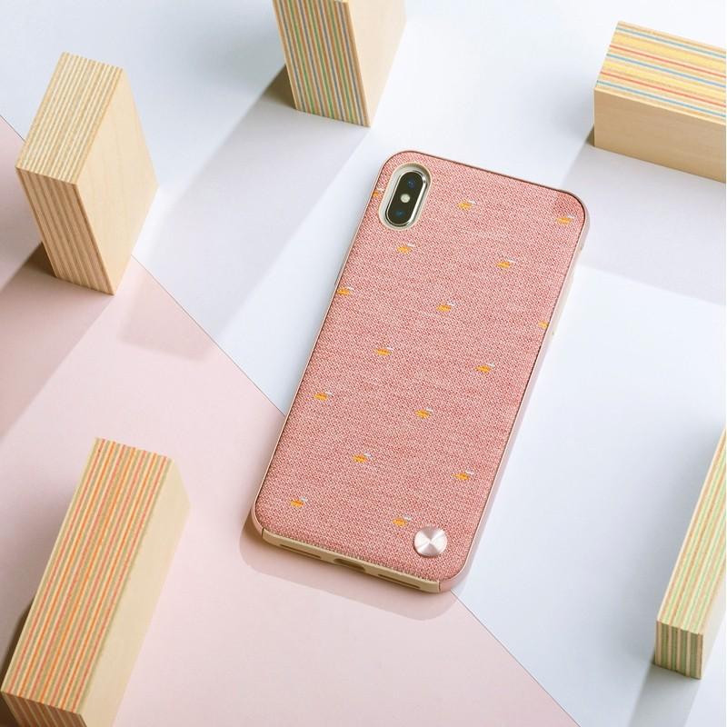 Moshi Vesta iPhone XS Max Hoesje Marcaron Pink 05