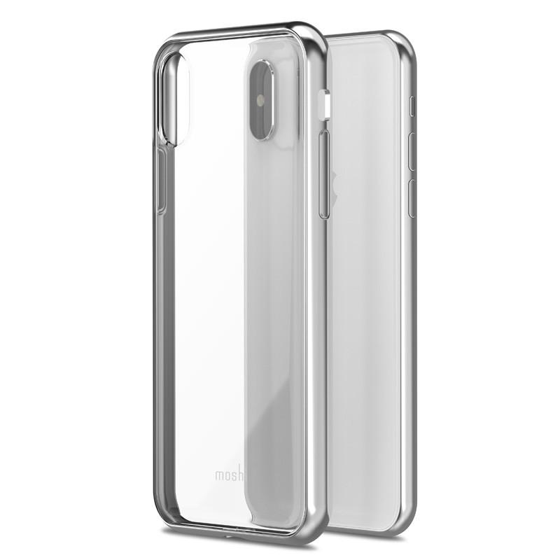 Moshi Vitros iPhone X Jet Silver - 1