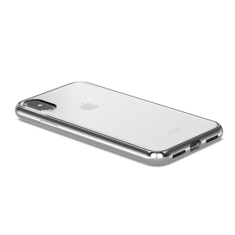 Moshi Vitros iPhone X/Xs Jet Silver - 3