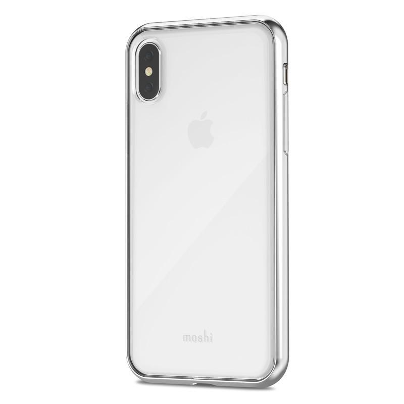 Moshi Vitros iPhone X Jet Silver - 4