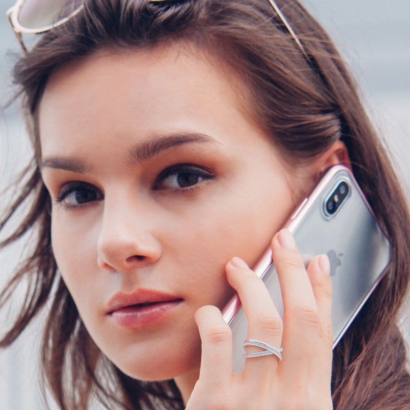 Moshi Vitros iPhone X/Xs Orchid Pink - 6