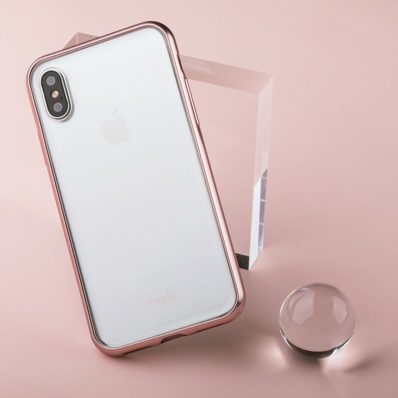 Moshi Vitros iPhone X/Xs Orchid Pink - 7