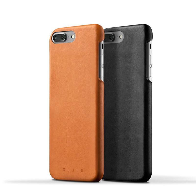 Mujjo Leather Case iPhone 7 Plus Black 03
