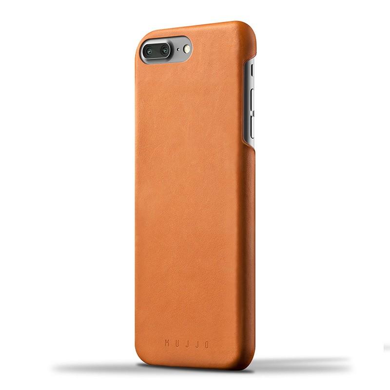 Mujjo Leather Case iPhone 7 Plus Tan 01