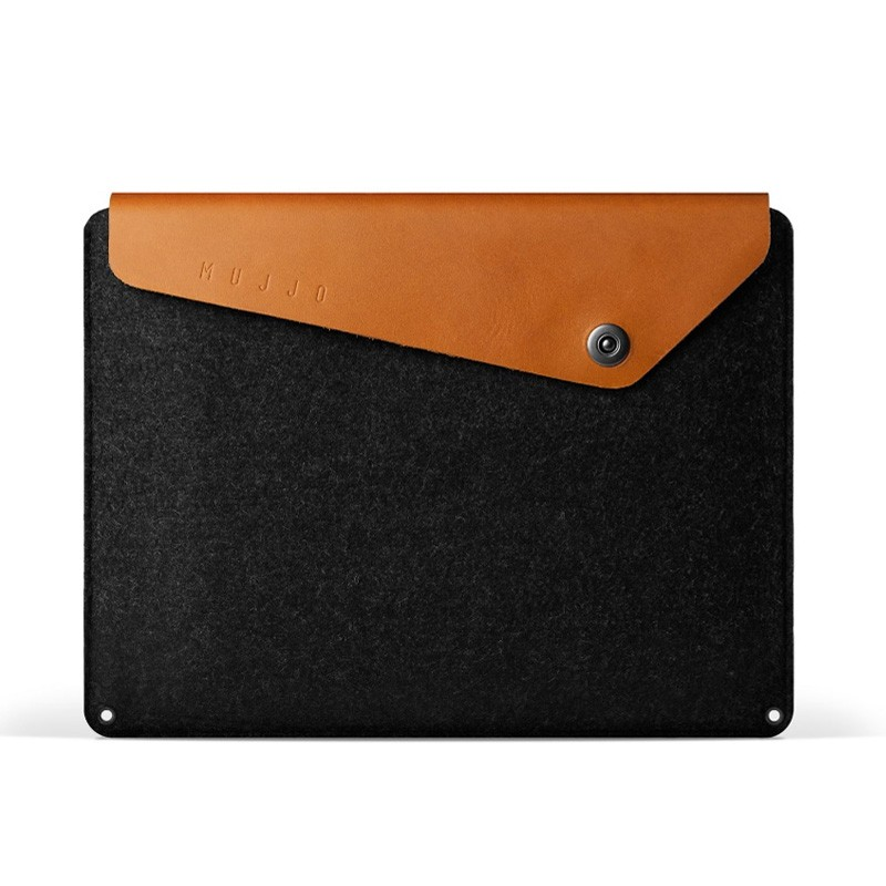 Mujjo Leather Sleeve Macbook 12 inch tan - 1