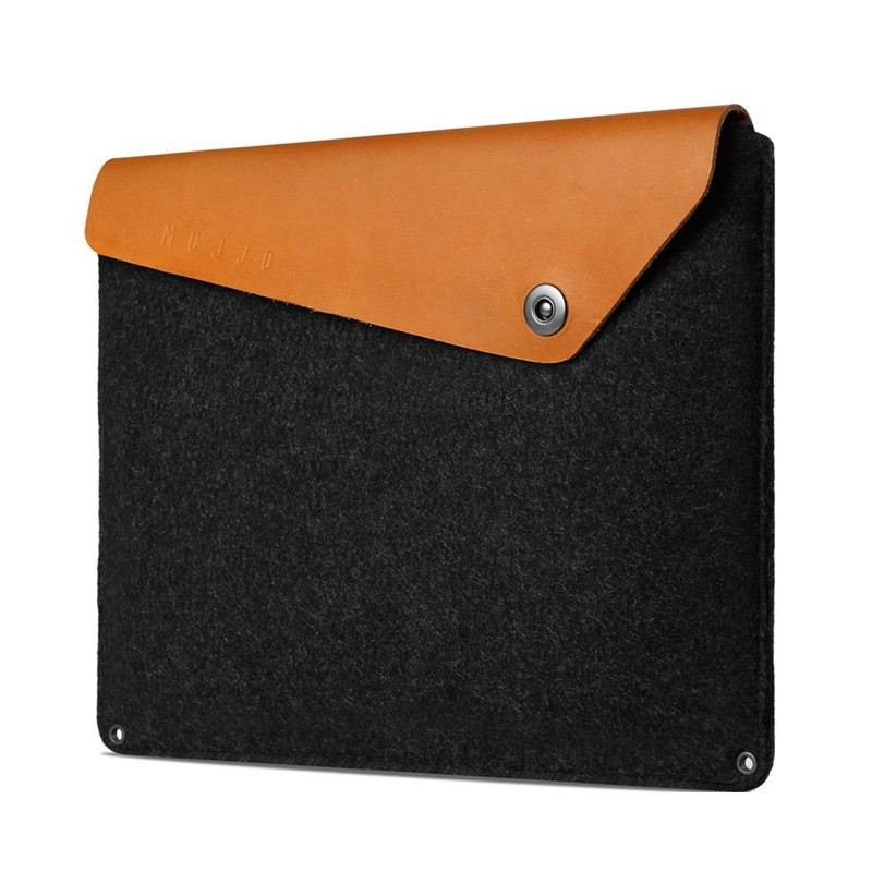 Mujjo Leather Sleeve Macbook 12 inch tan - 2