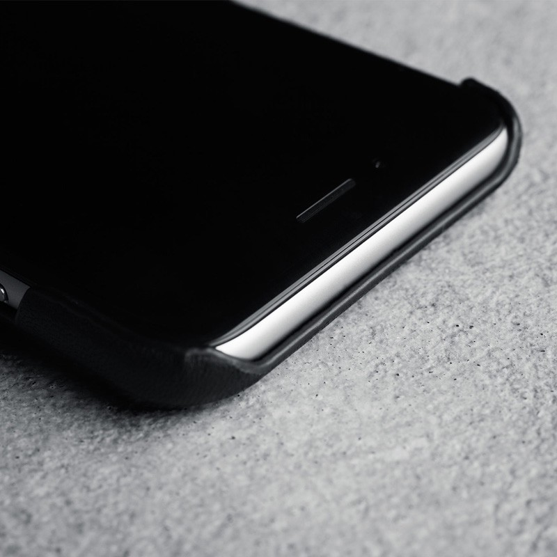 Mujjo Leather Wallet Case iPhone 6 Black - 3