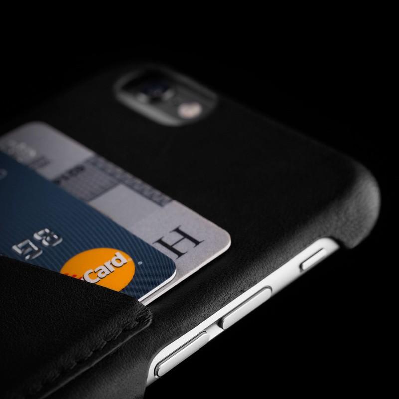 Mujjo Leather Wallet Case iPhone 6 Black - 7