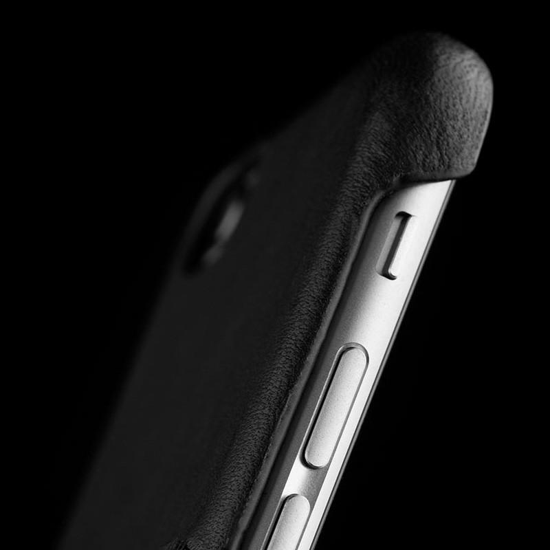 Mujjo Leather Wallet Case iPhone 6 Black - 8