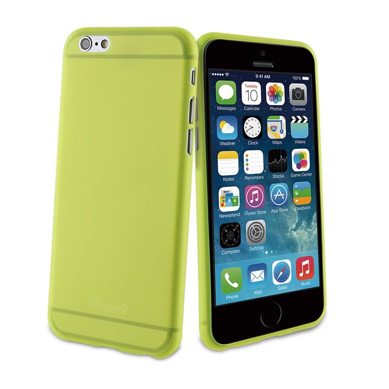 Muvit ThinGel iPhone 6 Acid Green - 1