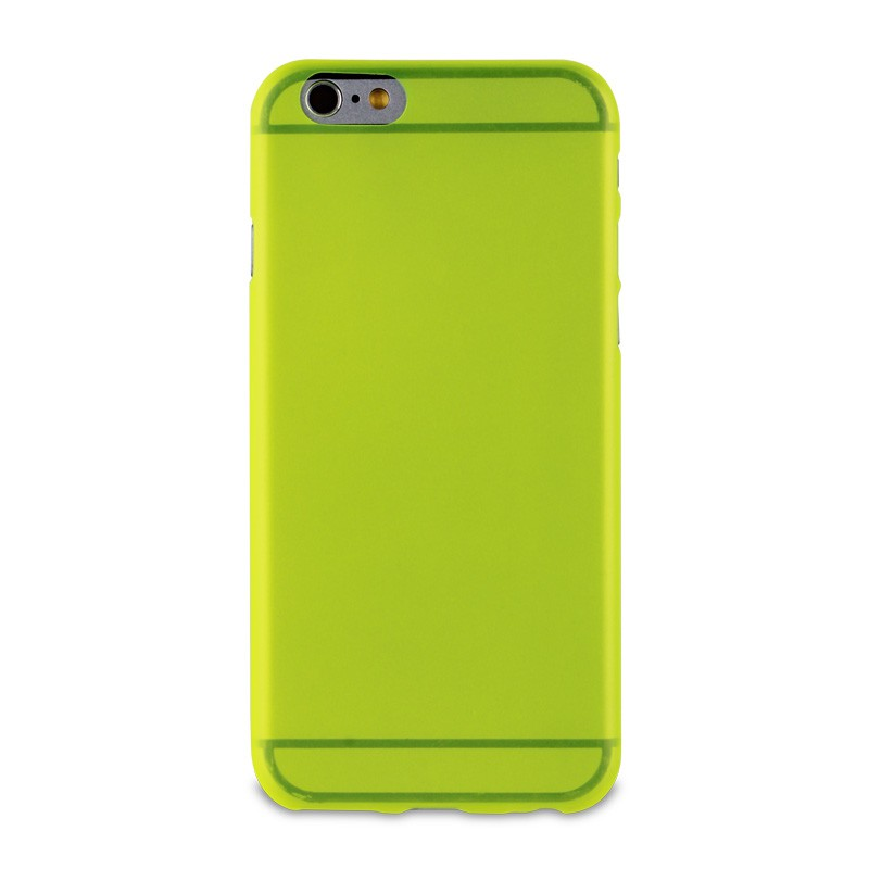 Muvit ThinGel iPhone 6 Acid Green - 2