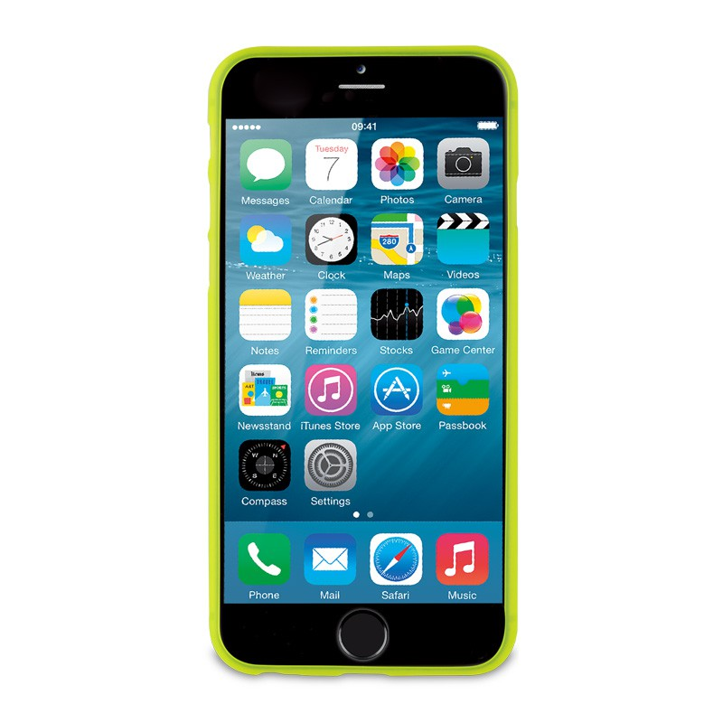 Muvit ThinGel iPhone 6 Acid Green - 3