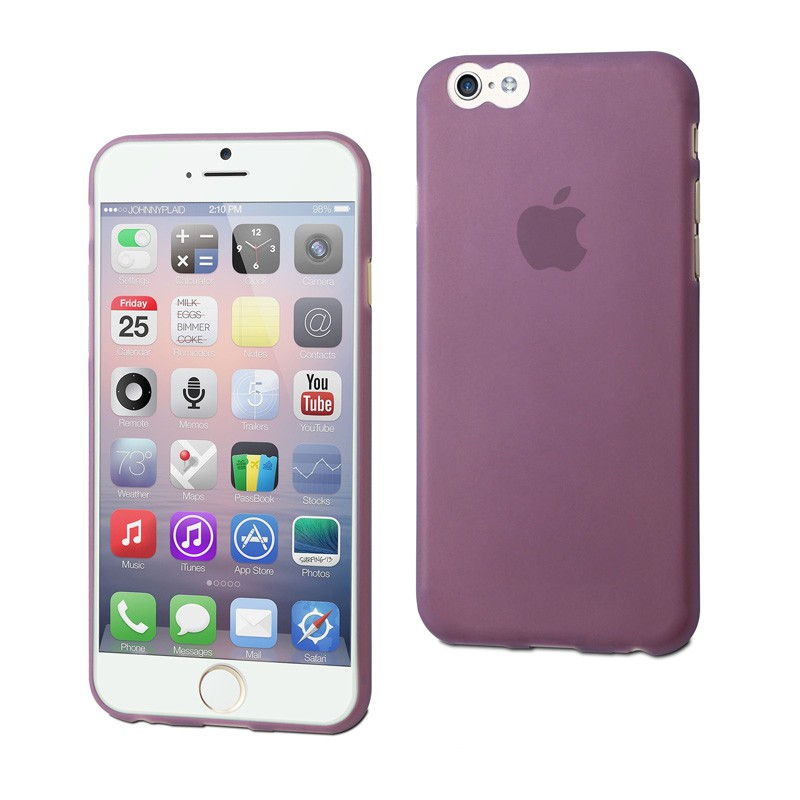 Muvit ThinGel iPhone 6 Purple - 1