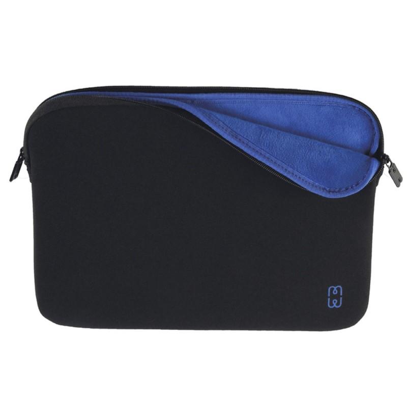 MW Sleeve voor Macbook Pro 13 inch / Macbook Air 2018 Zwart/Blauw - 1