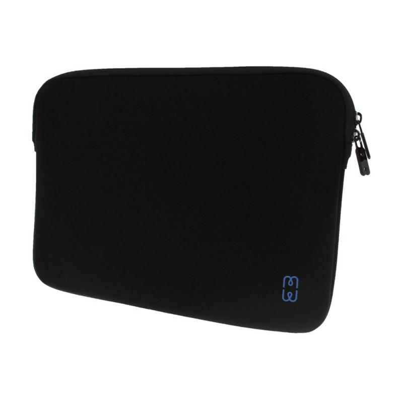 MW Sleeve voor Macbook Pro 13 inch / Macbook Air 2018 Zwart/Blauw - 2