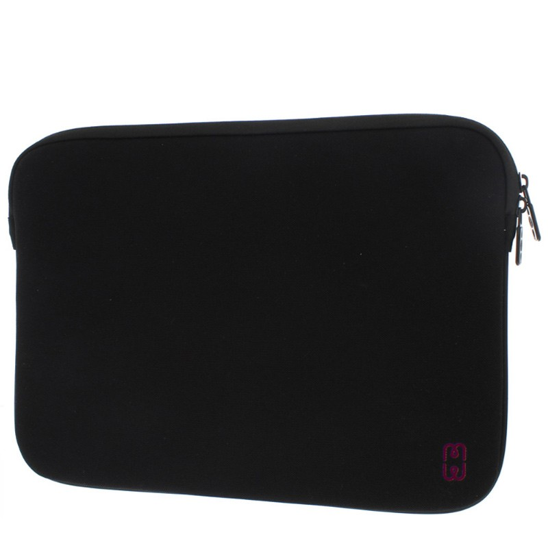 MW - MacBook Pro 13 inch 2016 Sleeve Black/Cherry 02